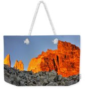 Sunrise In Torres Del Paine Weekender Tote Bag