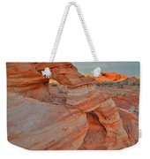 Sunrise In Valley Of Fire State Park Weekender Tote Bag