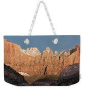 Sunrise In Zion National Park  Weekender Tote Bag