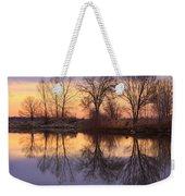 Sunrise Lake Reflections Weekender Tote Bag
