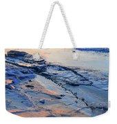 Sunrise Light On The Ice  Weekender Tote Bag
