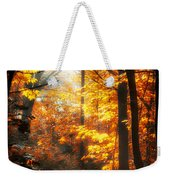 Sunrise Mist Through The Trees Weekender Tote Bag