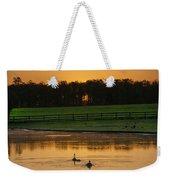 Sunrise On A Gettysburg Duck Pond Weekender Tote Bag