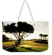 Sunrise On A Golf Course Weekender Tote Bag