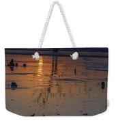 Sunrise On Boneyard Beach Weekender Tote Bag