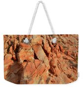 Sunrise On Colorful Sandstone In Valley Of Fire Weekender Tote Bag