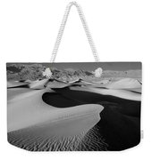 2a6856-bw-sunrise On Death Valley  Weekender Tote Bag
