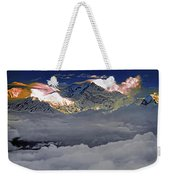 Sunrise On Kanchenjunga Weekender Tote Bag