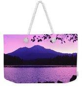 Sunrise On Lake Shasta Weekender Tote Bag