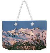 1m4120-sunrise On Mt. Olympus  Weekender Tote Bag