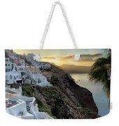 Sunrise On Santorini Weekender Tote Bag