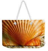 Sunrise On Shell Weekender Tote Bag
