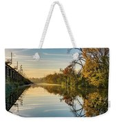 Sunrise On The Canal Weekender Tote Bag