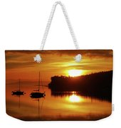 Sunrise On The Cove Weekender Tote Bag