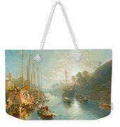 Sunrise On The Grand Canal Weekender Tote Bag