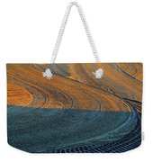 Sunrise On The Groomed Beach  Weekender Tote Bag