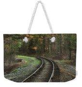 Sunrise On The Rails Weekender Tote Bag