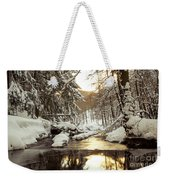 Sunrise On The River Weekender Tote Bag
