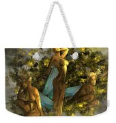Sunrise On The Tree Pixies Weekender Tote Bag