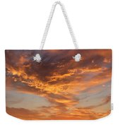 Sunrise Orange Sky, Willamette National Forest, Oregon Weekender Tote Bag