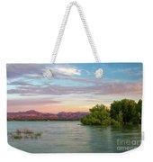 Sunrise Over A Colorado Lake  Weekender Tote Bag