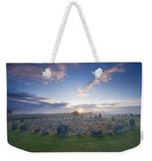 Sunrise Over Beaghmore Stone Circles Weekender Tote Bag