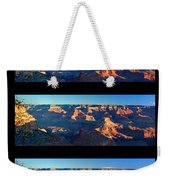 Sunrise Over Grand Canyon Weekender Tote Bag