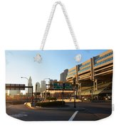 Sunrise Over Haymarket Station In Boston Weekender Tote Bag