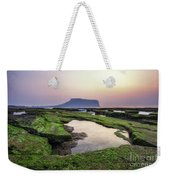 Sunrise Over Jeju Island Weekender Tote Bag