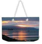 Sunrise Over Kachemak Bay Weekender Tote Bag