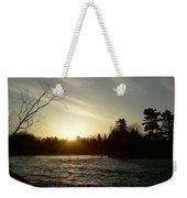 Sunrise Over Mississippi River Weekender Tote Bag