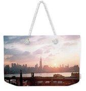 Sunrise Over Nyc Weekender Tote Bag