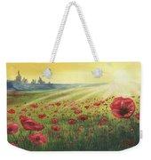 Sunrise Over Poppies Weekender Tote Bag