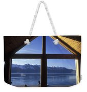 Sunrise Over Resurrection Bay From Salt Weekender Tote Bag