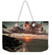 Sunrise Over The Beach Weekender Tote Bag