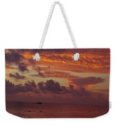 Sunrise Over The Caribean Weekender Tote Bag