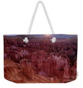 Sunrise Over The Hoodoos Bryce Canyon National Park Weekender Tote Bag by Dave Welling