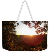 Sunrise Over The Mountain  Weekender Tote Bag