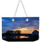 Sunrise Over The Pond Weekender Tote Bag
