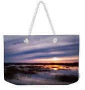 Sunrise Over The Salt Marsh Weekender Tote Bag
