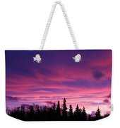 Sunrise Over The Trees Weekender Tote Bag