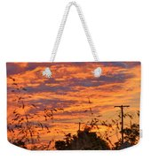 Sunrise Over The Wheat Fields Weekender Tote Bag
