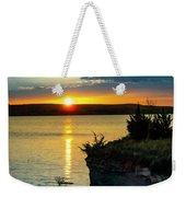 Sunrise Over Wilson Lake Weekender Tote Bag