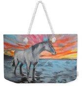 Sunrise Pony Weekender Tote Bag