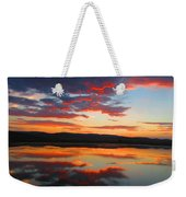 Sunrise Refection Weekender Tote Bag