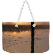 Sunrise Reflection Weekender Tote Bag