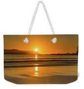 Sunrise Seascape With The Sun Weekender Tote Bag