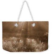 Sunrise Sepia Weekender Tote Bag