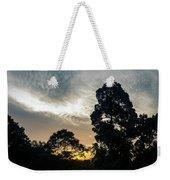 Sunrise Silhouettes Weekender Tote Bag