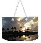 Sunrise Storm Weekender Tote Bag